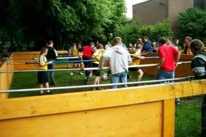 Menschenkickerturnier 2003