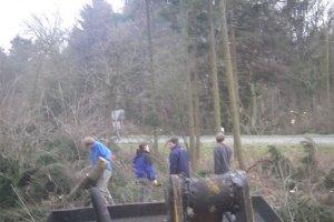 Waldarbeit 2007