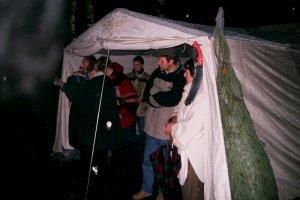 Weihnachtsbaumverkauf 2004