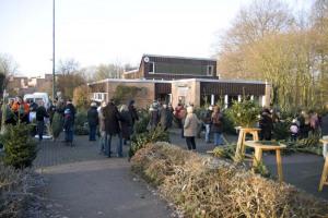 Weihnachtsbaumverkauf 2008